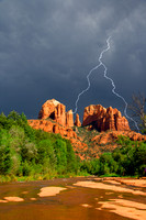 Storm over Cathedral Rock